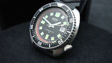 Vintage Seiko divers 6309-7040 TURTLE 6105 Hands and Dail JANUARY 1985 L86
