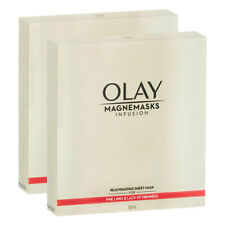 10pc Olay Women Magnemasks Infusion Rejuvenating Sheet Face Masks f/ Mature Skin