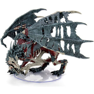 D&D Icons of the Realms Miniatures: Boneyard - Green Dracolich Premium