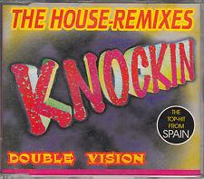Double Vision  CD-SINGLE KNOCKIN  ( REMIXES )    SEHR RARE