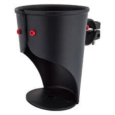 Delta Grande Beverage Holder/ Water Bottle Cage: Handlebar Mounted Black