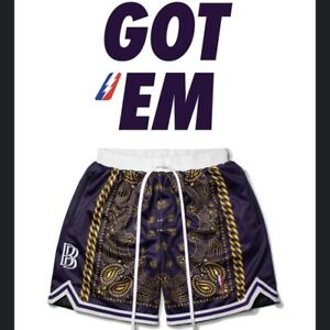 Collect And Select X Ben Baller Lakers Shorts Size M In Hand Ships Fast