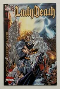 Lady Death Love Bites #1A one shot (Chaos 2001) NM condition issue.
