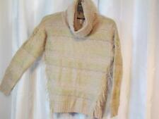NWT Kensie Tan Cowl Neck Sweater Long Sleeve Sz Small Org $99.00