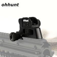 ohhunt Backup Rifle Rear Sight Detachable Compact Adjustment Windage Elevation
