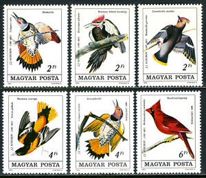 Hungary 2928-2931,C446-C447, MNH. Birds, 1985