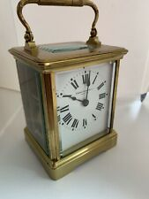 Old 19c French Brass Carriage Clock Striking Movement Original Lever Escapement