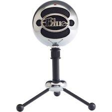 NEW Blue Microphones SNOWBALLALUMINUM Snowball USB Microphone Brushed Aluminum