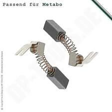 Kohlebürsten für Metabo Schlagbohrmaschine SB 600/4 S 6,3x8x16mm