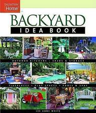 USED (GD) Backyard Idea Book: Outdoor Kitchens, Sheds & Storage, Fireplaces, Pla