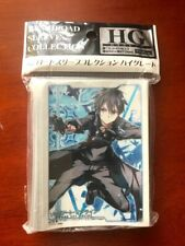 US SELLER Bushiroad Sleeve Collection HG Vol.458 Sword Art Online Kirito Japan