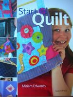 Search Press - START TO QUILT - Learn How with photos instructions ideas etc