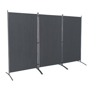 Room Divider – Folding Partition Privacy Screen for School, Church,Office,102''