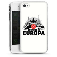 Apple iPhone 4s Handyhülle Hülle Case - Eintracht Europa white