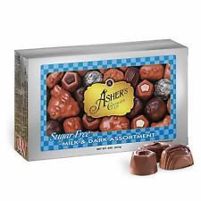 Asher's Chocolate, Sugar Free Chocolate Candy, Milk and Dark Chocolate Assortmen