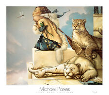 Michael Parkes Deva Fantasy Weird Odd Magical Print Poster 31.5x27.5