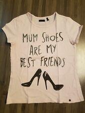 Girls size 8-10 IKKS designer short sleeve t shirt with shimmery detail 1/2 off!