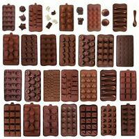 Chocolate Baking Mold Silicone Cake Decorating Moulds Candy Cookies Durable