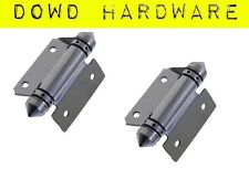 2x Self Closing Glass Pool Fence Gate Hinge 1 pair 316 Stainless Steel Gate
