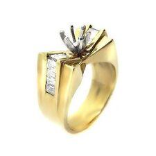 1.45 ct ROUND CUT DIAMOND ENGAGEMENT RING MOUNTING