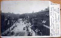 1905 Postcard: West Main Street - Meriden, Connecticut CT