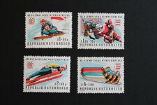 AUTRICHE timbre - Yvert et Tellier n°1308 à 1311 n** stamp Austria (cyn5)