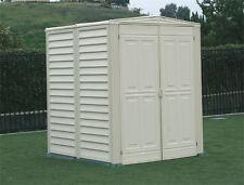 DuraMax Sheds 5x5 YardMate Vinyl Outdoor Storage Shed Kit w/ Floor (model 00782)