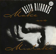 KEITH RICHARDS Make No Mistake (1988 U.S. White Label Picture Cover Promo 7inch)