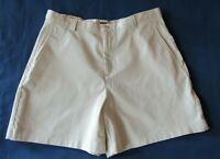 Dockers Khakis Women's size 14 Stretch Zipper Shorts New Tags