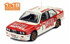 1/18 Ixo 18RMC040A BMW E30 M3 #1 B. BÉGINJ  LENNE - TOUR DE COURSE 1988