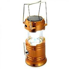 5800-T Rechargeable Solar Camping Lantern(Bronze)