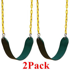 2X Heavy Duty Swing Seat W/ Chain- Swing Set Accessories Swing Seat Replacement