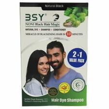 Bsy Noni Black Hair Magic Hair Dye Shampoo 3 x 20ml