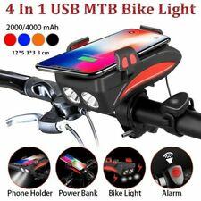 LED Fahrradlicht Fahrradbeleuchtung Fahrad Scheinwerfer USB Wiederaufladbare DHL