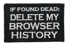 IF FOUND DEAD DELETE MY BROWSER HISTORY HOOK PATCH  SH  +666