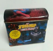 SPIDER-MAN - Heroes & Villains Collector's Trading Cards Tin Eaglemoss Marvel