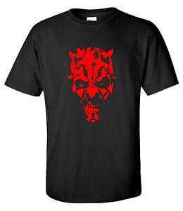 Darth Maul Sith Lord sci-fi star Movie T-shirt