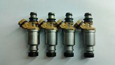 3 Yr Warranty Genuine Rebuilt Denso Fuel Injector Set Toyota OEM #23250-16150