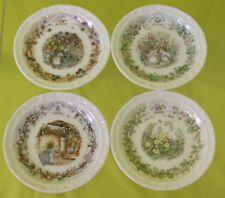 Royal Doulton Brambly Hedge Seasonal Collector Plates Set ##STR02RG