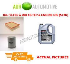 PETROL OIL AIR FILTER + SS 10W40 FOR LAND ROVER FREELANDER 2.5 177 BHP 2000-06
