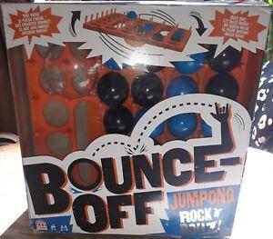 BOUNCE OFF JUMPONG ROCK N ROLLZ BOARD GAME MATTEL COMPLETE