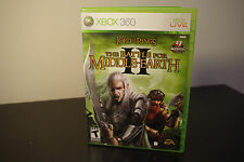Lord of the Rings: The Battle for Middle-earth II (Xbox 360, 2006) *Tested