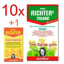 10xTISANE RICHTER'S TRANSIT MINCEUR +1 Tisane Richter's Digestion (the richters)