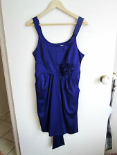 TARGET  (Hot Options)  size  12   Gorgeous Soft Slinky Satin Purple Dress