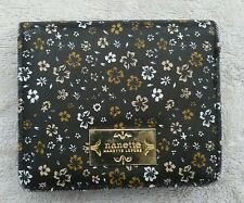 Nanette Lepore woman's wallet preowned floral pattern