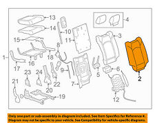 Chevrolet GM OEM 09-12 Traverse Third Row Seat-Seat Back Cover Right 25956788