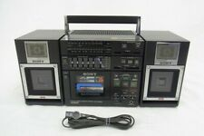 SONY CFS-9000 3-Piece Stereo Boombox 1980'