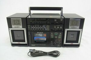 SONY CFS-9000 3-Piece Stereo Boombox 1980' & Service Manual in PDF file