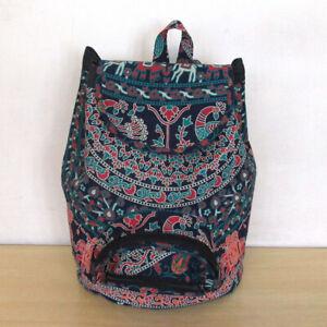 New Indian Mandala Unisex Men Women Fashion Backpack Cotton Bags Bohemian