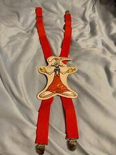 Rare Htf Disney Amblin Roger Rabbit Suspenders